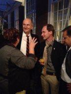 Zu Gast in der deutschen Botschaft in Den Haag mit Brandenburgs Minissterpräsident