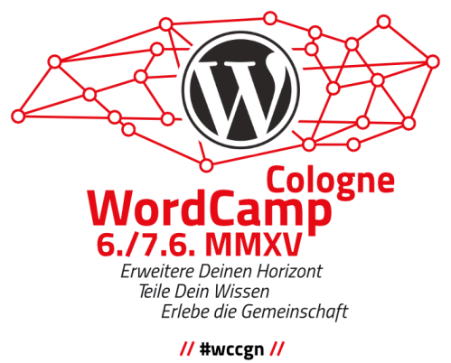 Logo Wordpress Camp in Köln